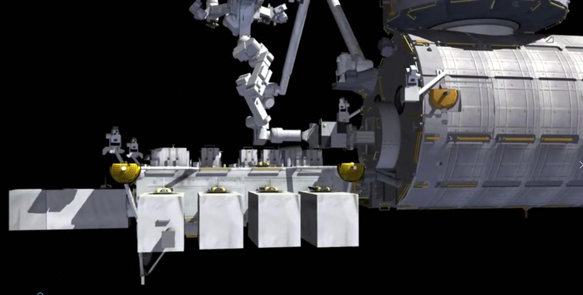 SSIKLOPS Satellite deployment
